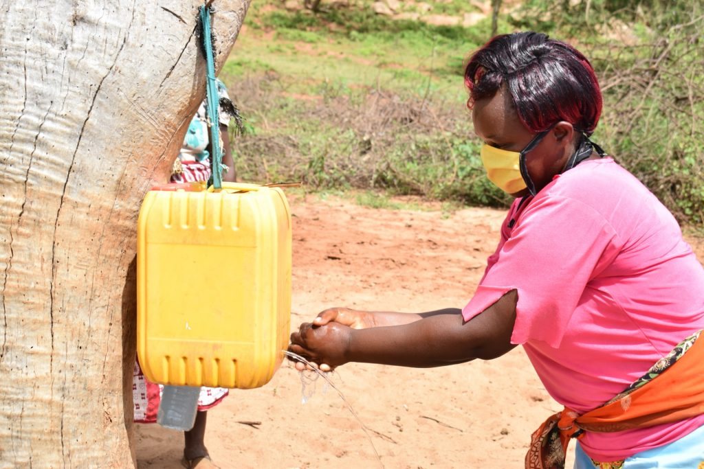 The Water Project : covid19-kenya4498_covid-19-outreach-4