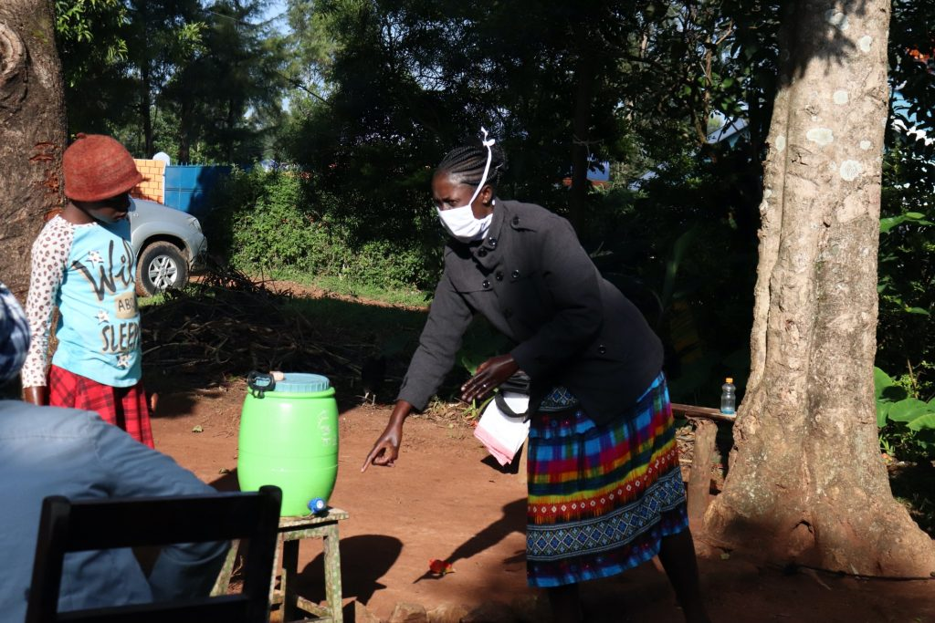 The Water Project : covid19-kenya4857-handwashing-demonstration-2