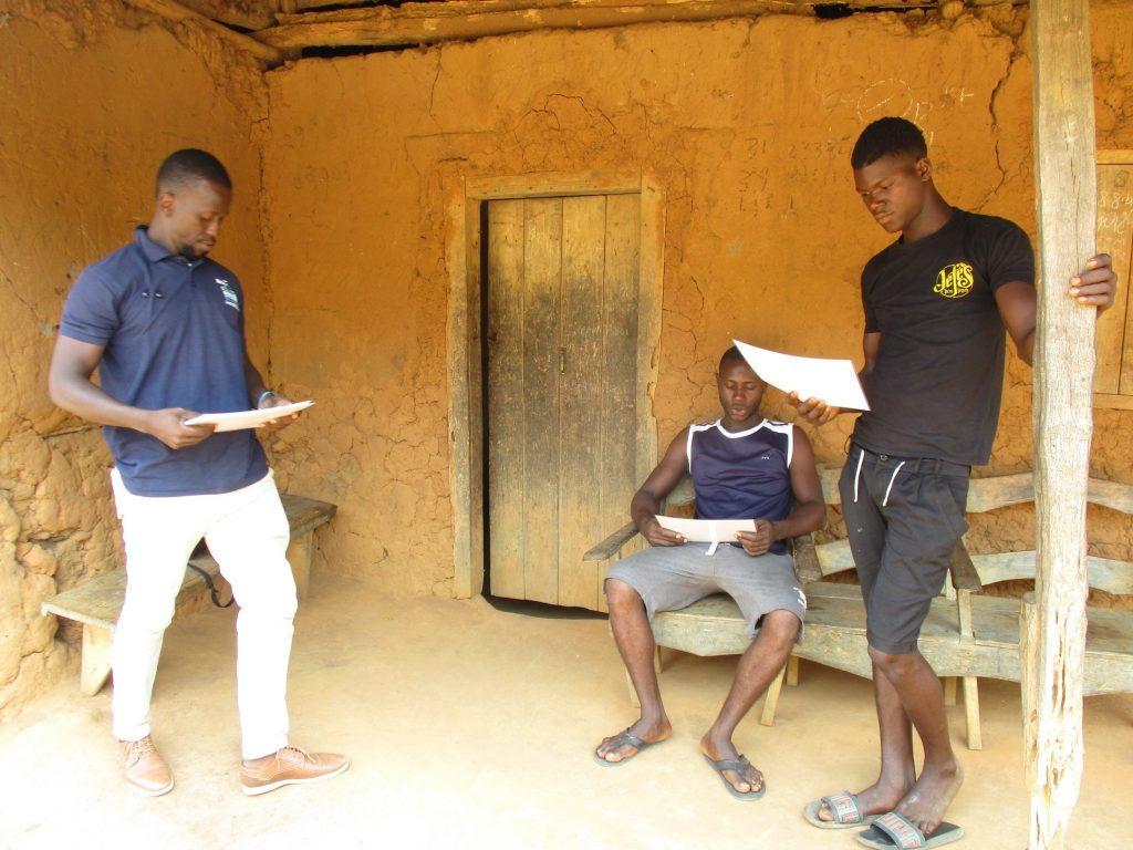 The Water Project : covid19-sierraleone18252-reading-materials-about-covid
