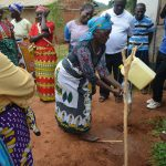 The Water Project: Kasioni Community B -  Handwashing