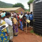 The Water Project: Kasioni Community B -  Handwashing Demonstration