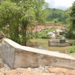 The Water Project: Kasioni Community B -  Sand Dam And Well