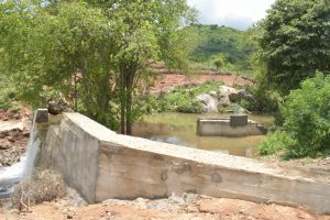 The Water Project:  Sand Dam And Well