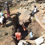 The Water Project: Kasioni Community C -  Digging Well