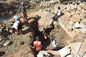 The Water Project:  Digging Well