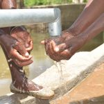 The Water Project: Kasioni Community C -  Water From The Well