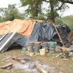 The Water Project: Mbitini Community -  Tarps Over The Cement