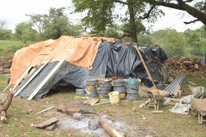 The Water Project:  Tarps Over The Cement
