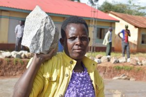 The Water Project:  Carrying A Rock