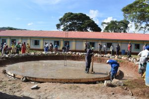 The Water Project:  Cementing The Foundation