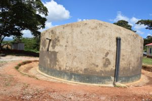 The Water Project:  Complete Water Tank