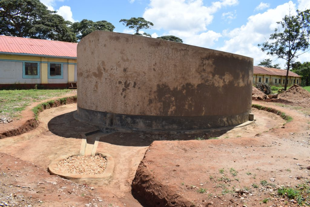 The Water Project : kenya20351-complete-water-tank-2