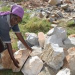 The Water Project: Kavyuni Salvation Army Primary School -  Hauling Rocks