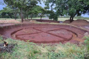 The Water Project:  Preparing Tank Site