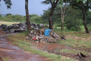 The Water Project:  Rocks Gathered By Parents