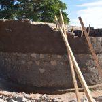 The Water Project: Kavyuni Salvation Army Primary School -  Tank Wall Progress