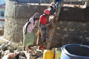 The Water Project:  Wall Construction