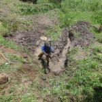 The Water Project: Mahira Community, Jairus Mwera Spring -  Site Excavation