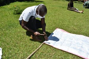 The Water Project:  Sir Victor Nailing The Chart Onto The Poles