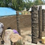 The Water Project: Ebubole UPC Secondary School -  Pillars To Hold The Dome Up