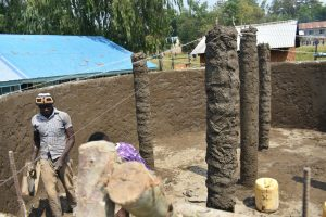 The Water Project:  Pillars To Hold The Dome Up