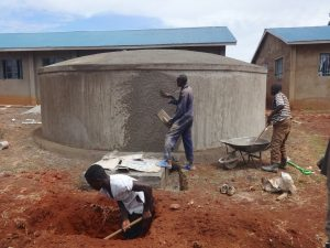 The Water Project:  Tank Finishing Works