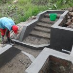 The Water Project: Mahira Community, Kusimba Spring -  Spring Plaster Works