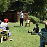 The Water Project: Musutsu Community, Mwashi Spring -  Handwashing Exercise Was For Everyones Benefit