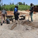 The Water Project: Friends School Vashele Secondary -  Cement Works