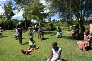 The Water Project:  Training In Session At Mwashi Spring