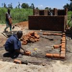 The Water Project: Friends School Vashele Secondary -  Latrine Construction