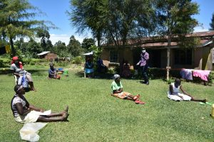 The Water Project:  Women At The Training Following Covid Sensitization