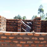 The Water Project: Friends School Vashele Secondary -  Latrine Walls Construction