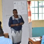 The Water Project: Ebubole UPC Secondary School -  Trainer Emmah