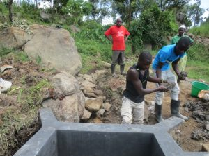 The Water Project:  Backfilling Clay Works