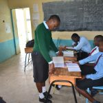 The Water Project: Ebubole UPC Secondary School -  Active Participation From The Participants