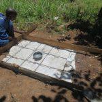 The Water Project: Mahira Community, Jairus Mwera Spring -  Sanplat Construction