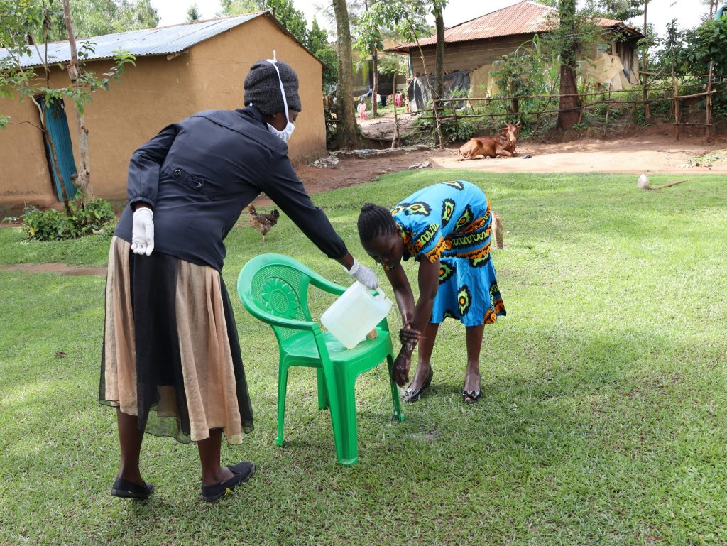 The Water Project : 2-covid19-kenya4698-handwashing-was-highlighted-as-an-important-practice-in-keeping-the-virus-away