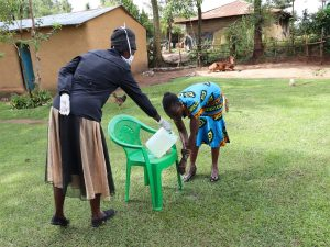 The Water Project:  Handwashing Was Highlighted As An Important Practice In Keeping The Virus Away
