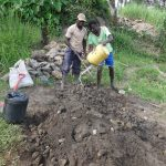 The Water Project: Mahira Community, Kusimba Spring -  Cement Works
