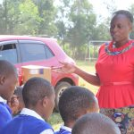 The Water Project: St. Teresa's Isanjiro Girls Secondary School -  Facilitator Mary Afandi In Action