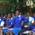 The Water Project: St. Teresa's Isanjiro Girls Secondary School -  Dental Hygiene Demonstration