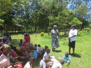 The Water Project:  A Community Member Adresses Needs Of Cleaniness