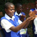 The Water Project: St. Teresa's Isanjiro Girls Secondary School -  Health Club President At The Training