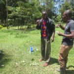The Water Project: Mahira Community, Jairus Mwera Spring -  Dental Care Training Session