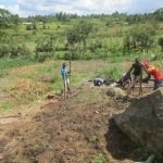 The Water Project: Mahira Community, Kusimba Spring -  Fencing