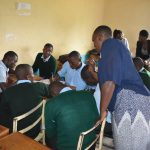The Water Project: Ebubole UPC Secondary School -  Emmah Checks In On A Group Discussion