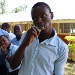 The Water Project: Friends School Vashele Secondary -  Dental Hygiene Volunteer
