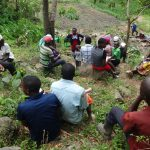 The Water Project: Mahira Community, Kusimba Spring -  Facilitator Conducts Training