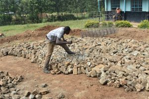 The Water Project:  Laying Of The Foundation